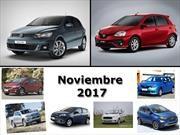 Los 10 autos más vendidos de Argentina en noviembre de 2017