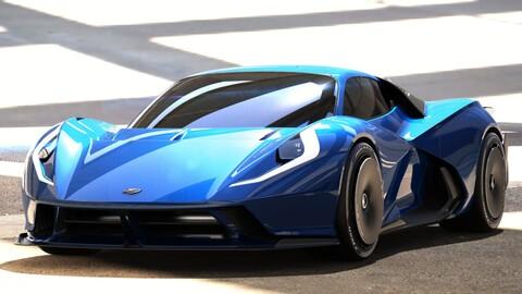 Estrema Fulminea: un súper auto eléctrico que registra más de 2,000 hp