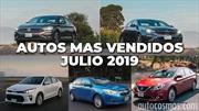 Los 10 autos más vendidos en julio 2019