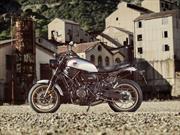 Yamaha XSR700 Xtribute, un homenaje a los setenta