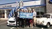Subaru ha logrado vender 10 millones de autos en Estados Unidos