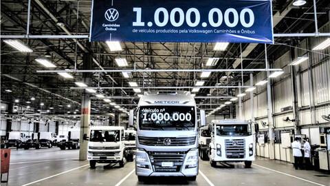 Volkswagen Camiones y Buses produce su unidad un millón