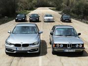 Estas son las 6 generaciones del BMW Serie 3