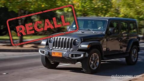 Recall para Jeep Wrangler