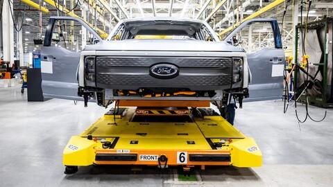 Gran demanda de Ford F-150 Lightning obliga a aumentar su producción