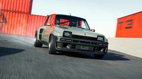 El restomod de este Renault 5 Turbo incluye 400 CV y fibra de carbono