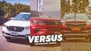 Versus: Chery Tiggo 3, Changan CS35 Plus y MG ZS, la batalla de los crossover chinos