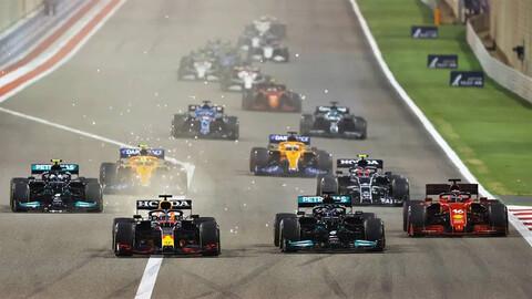 F1 GP de Bahrain 2021: Verstappen acelera, pero...