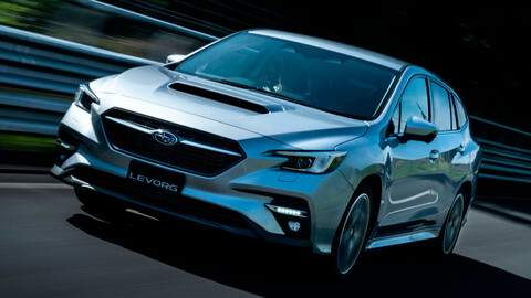 Subaru Levorg 2021, la station wagon a la altura del WRX
