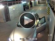 Esto sucede cuando se conduce borracho en un estacionamiento