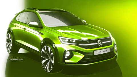 VW Nivus para Europa será el nuevo Volkswagen Taigo