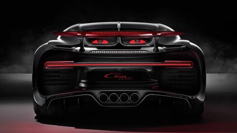 Bugatti Chiron se va despidiendo
