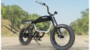 Esta bici-moto eléctrica viene con sabor café racer