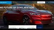 Se filtra la pagina web del nuevo Mustang Mach-E, el primer SUV eléctrico de Ford