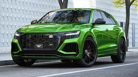 El Audi RS Q8 Goliath es tan potente que no es legal conducirlo es su país