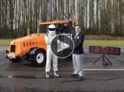 Video: Top Gear alcanza los 140 km/h con un tractor