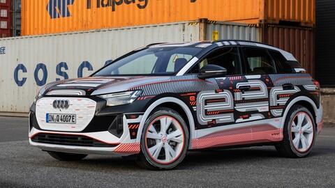 Audi Q4 e-tron: el SUV eléctrico muestra sus armas