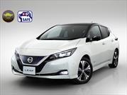 Nissan Leaf 2018 consigue cinco estrellas en las pruebas de choque