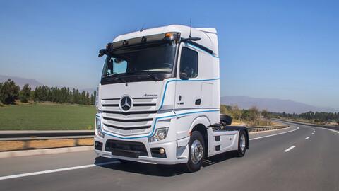 Mercedes-Benz New Actros es el primer vehículo de Chile en reemplazar los espejos por cámaras