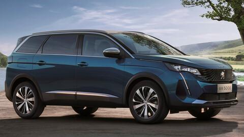Peugeot 3008 y 5008 2022 se presentan en China