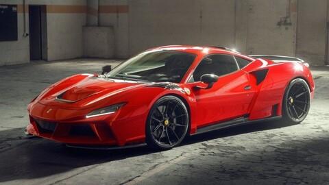 Ferrari F8 N-Largo por Novitec: Nuevas líneas y mayor potencia