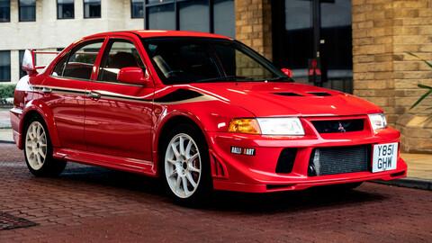 Subastaron un Mitsubishi Lancer Evolution IV Tommi Mäkinen Edition impecable