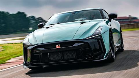 El Nissan GT-R 50 by Italdesign 2021 de producción hace su debut internacional en Italia