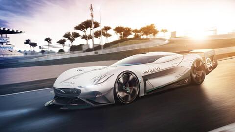 Jaguar Vision Gran Turismo SV, un auto de carreras de verdad, para el mundo virtual