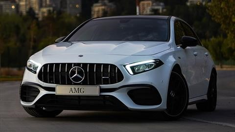 Mercedes-AMG A 45 S 2020 debuta en Chile via streaming
