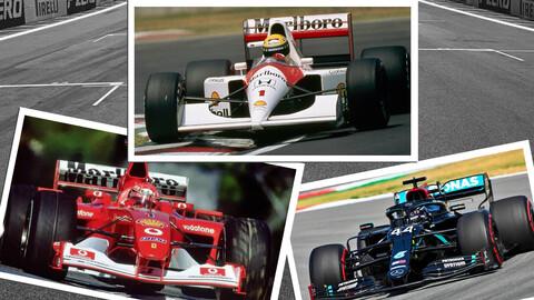 ¿Quién es el más rápido entre Senna, Schumacher y Hamilton?