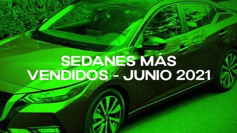 Sedanes más vendidos en Colombia en junio de 2021