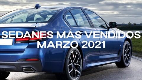 Sedanes más vendidos en Colombia en marzo de 2021