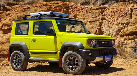 Manejamos el Suzuki Jimny 2021