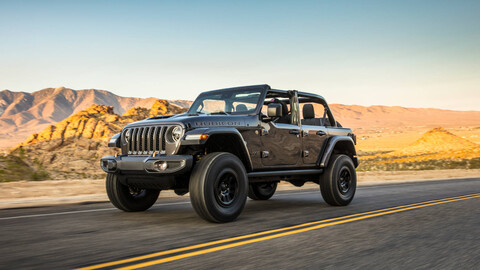 Jeep Wrangler Rubicon 392 2021, el más poderoso y bestial de toda de la historia