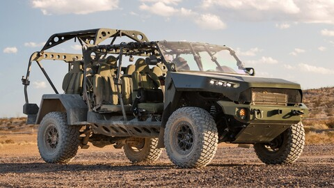 GM Defense ISV es una Chevrolet Colorado transformada para el Ejército de Estados Unidos