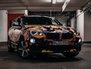 BMW X2 2018 sale de exploración urbana con camuflaje