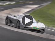 Video: Así prueban los autos en Nürburgring