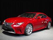 Lexus RC coupé 2015 se presenta