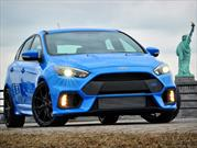 Ford Focus RS 2016 entrega 350 libras-pie de torque y 350 hp