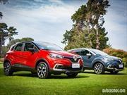 Renault Captur Fase II 2018 se actualiza desde $12.490.000