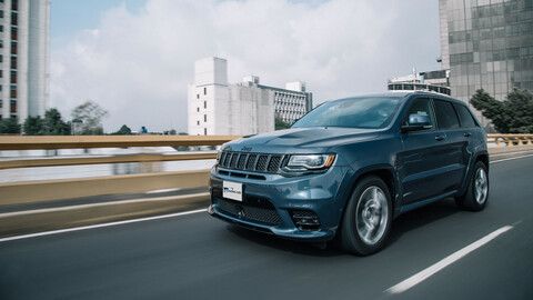Manejamos la Jeep Grand Cherokee SRT8 2020