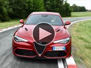 Video: el Alfa Romeo Giulia Quadrifoglio es el sedán más rápido en Nürburgring
