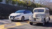 Nissan Tama vs LEAF, los eléctricos de la marca a través del tiempo