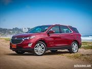 Chevrolet Equinox 2018 inicia sus ventas en Chile