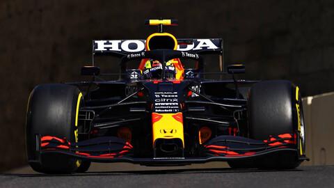 F1 2021: Red Bull dominó el viernes en Azerbaiyán