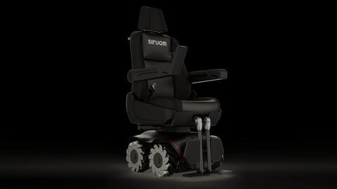 Toyota Argentina colabora con el proyecto de una silla de ruedas omnidireccional