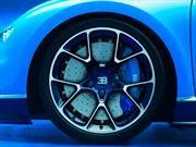Bugatti Chiron con calipers bajo impresión 3D