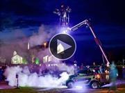 Todos a bailar: smart ForTwo se convierte en un boliche con ruedas