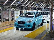 Datsun ya está fabricando el GO