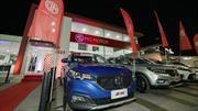 MG abre nuevo concesionario en Santiago nororiente